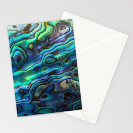 Faux Abalone Stationery Cards