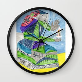 Study for Las Meninas Wall Clock