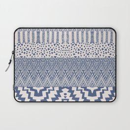 N104 - Oriental Traditional Moroccan Geometric Shapes Design   Laptop Sleeve