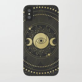 2020 Moon Calendar iPhone Case