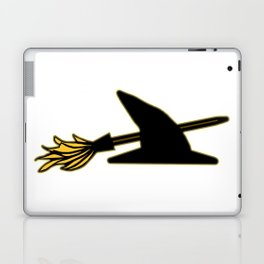 Witch Hat & Broomstick Laptop & iPad Skin