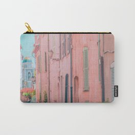 Colors of Mediterranean   Antibes France Europe   Architecture Travel Photography Wall Art Print Carry-All Pouch