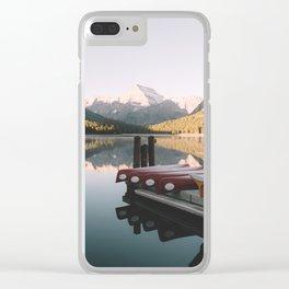 Colour Palette Clear iPhone Case