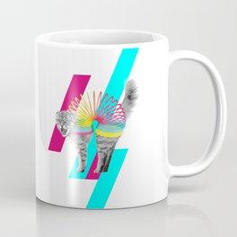 Slinky Cat Coffee Mug