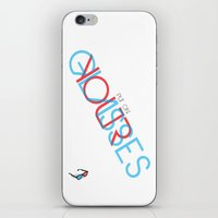 3d iPhone & iPod Skins featuring 3D. by Grant Pearce