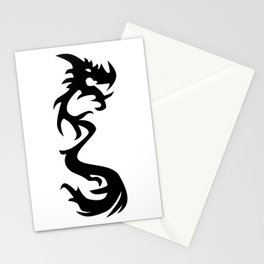 Dragon Silhouette 1 Stationery Cards