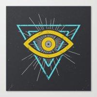 illuminati Canvas Prints featuring Illuminati by David Elliott | Nocturnal