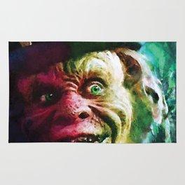 The Leprechaun comic book cover featuring Warwick Davis classic horror! Rug