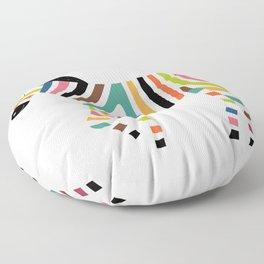 Magic code Floor Pillow