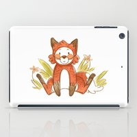 relax iPad Cases featuring Relax by Pencil Box Illustration