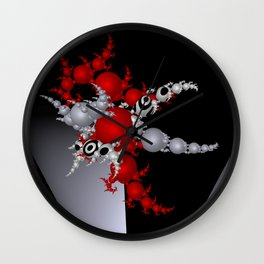 red white black -3- Wall Clock