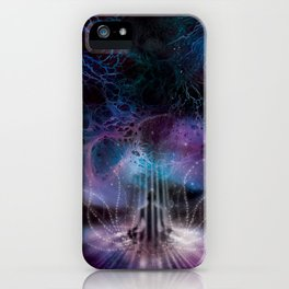 Into The Abyss iPhone Case