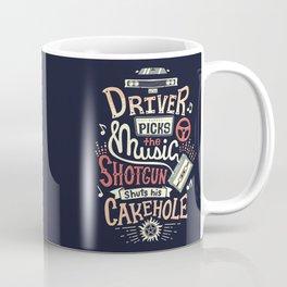 Driver picks the music Coffee Mug