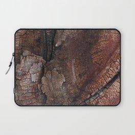 burned wood texture Laptop Sleeve