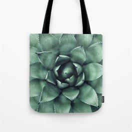 Macro Succulent Tote Bag