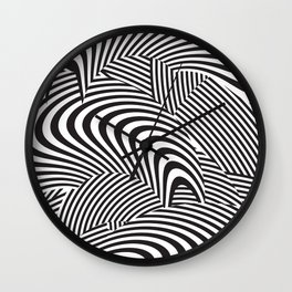opt/out Wall Clock