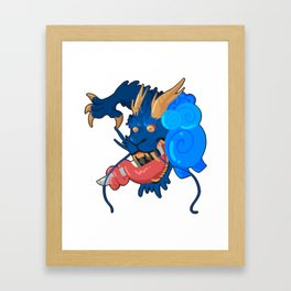 DRAGON Framed Art Print