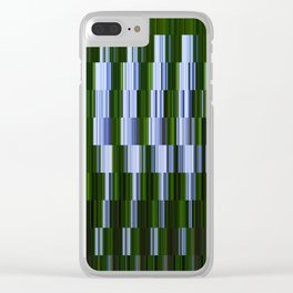 Kaleidoscope | Lobelia Clear iPhone Case