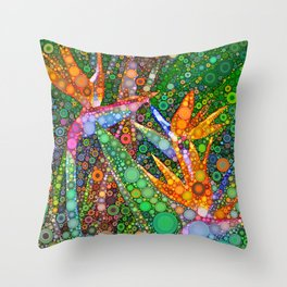 Fiesta in Paradise Throw Pillow