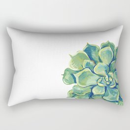 November Succulents Rectangular Pillow