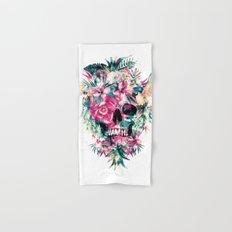 Tropical Skull Hand & Bath Towel