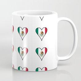 Flag of mexico 4- mexico,mexico city,mexicano,mexicana,latine,peso,spain,Guadalajara,Monterrey Coffee Mug