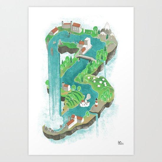 Perpetual World Art Print