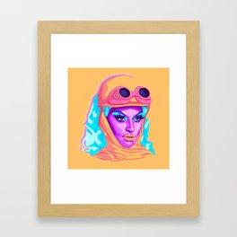 QUEEN MIZ CRACKER Framed Art Print