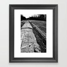 3 Miles Framed Art Print