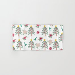 Christmas Pattern Hand & Bath Towel