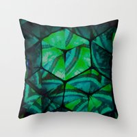 third eye Throw Pillows featuring Third Eye by Lotus Effects