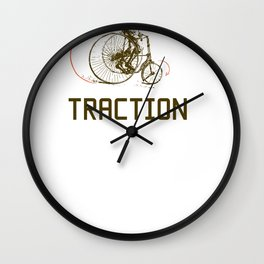 Traction Wall Clock