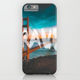 TRAVEL San Francisco iPhone Case