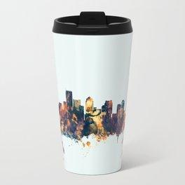 BostonMassachusetts Skyline Travel Mug