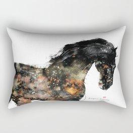 Horse (Distant Galaxy) Rectangular Pillow