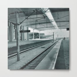 The Lonely Traveller Metal Print