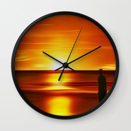 Gormley (Digital Art) Wall Clock