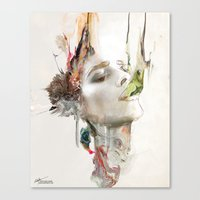 archan nair Canvas Prints featuring Morning Chorus by Archan Nair