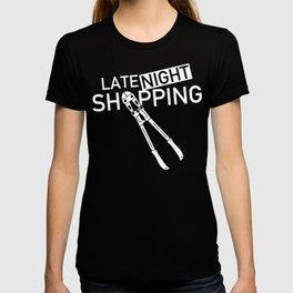 Late Night Shopping T-shirt