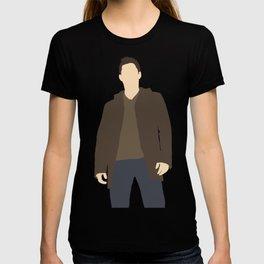 Dean Winchester - Jensen Ackles - Supernatural - Minimalist design T-shirt