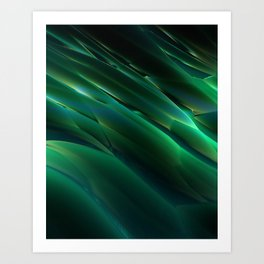 Alien Grass Art Print
