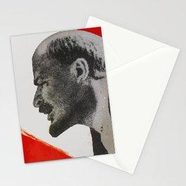 Vladimir Ilyich Ulyanov alias Lenin poster Stationery Cards