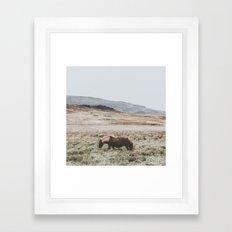 Hrútafjörður, Iceland II Framed Art Print