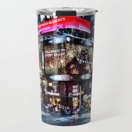 Times Square New York Travel Mug