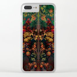 """Sci-fi Spring Still Life"" Clear iPhone Case"