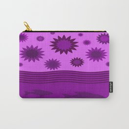 In Another Universe - Purple Carry-All Pouch