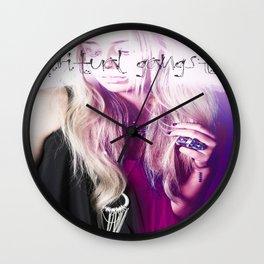 Spiritual Gangsta Wall Clock