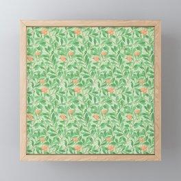 "William Morris ""Arbutus"" 2. Framed Mini Art Print"
