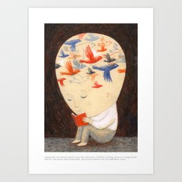 A Velocity of Being: Ofra Amit Art Print
