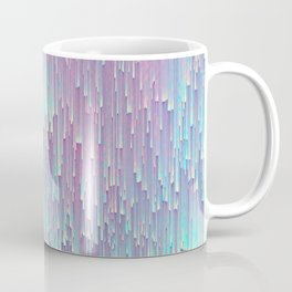 Iridescent Glitches Kaffeebecher